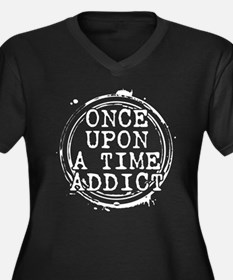 Once Upon a Time Addict Stamp Women's Dark Plus Si