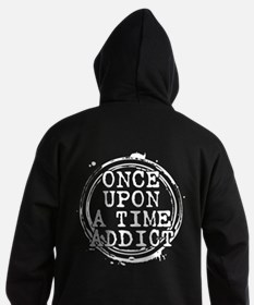 Once Upon a Time Addict Stamp Dark Hoodie