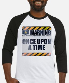 Warning: Once Upon a Time Baseball Jersey