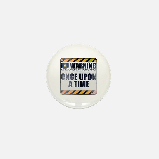 Warning: Once Upon a Time Mini Button (10 pack)