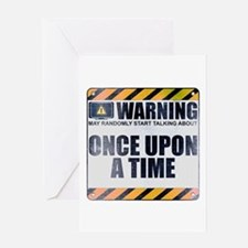 Warning: Once Upon a Time Greeting Card