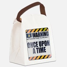 Warning: Once Upon a Time Canvas Lunch Bag