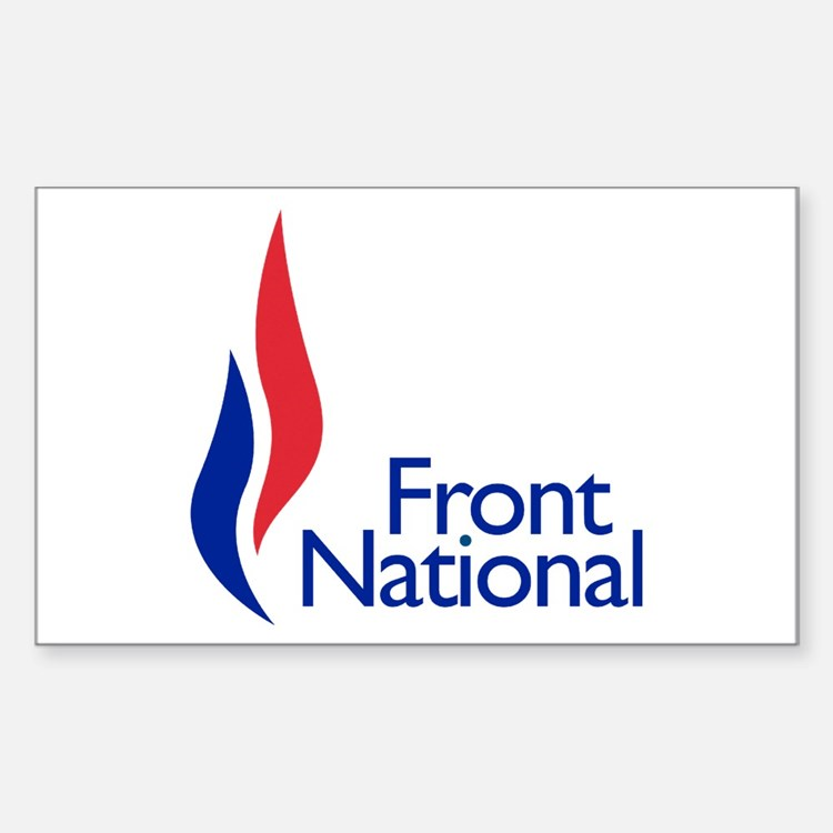 Front national Sticker (Rectangle)