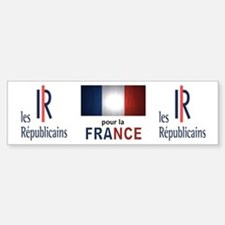 Les Republicains Bumper Bumper Sticker