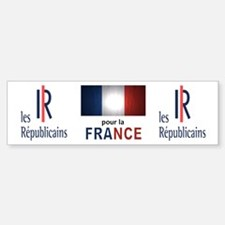 Les Republicains Car Car Sticker