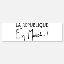 La Republique Sticker (Bumper)