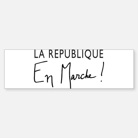 La Republique Sticker (Bumper)