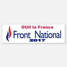 Front national Bumper Bumper Sticker