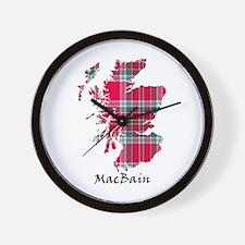 Map - MacBain Wall Clock