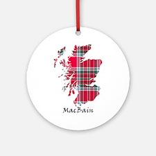 Map - MacBain Ornament (Round)