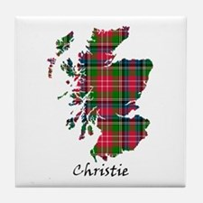 Map - Christie Tile Coaster
