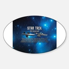 50TH FINAL FRONTIER Decal