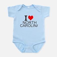 I Love North Carolina Body Suit