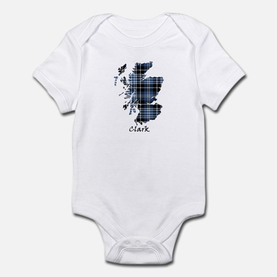Map - Clark Infant Bodysuit
