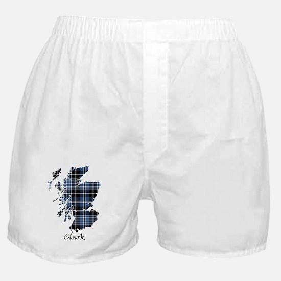 Map - Clark Boxer Shorts