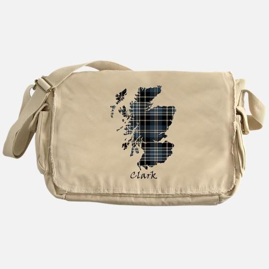 Map - Clark Messenger Bag