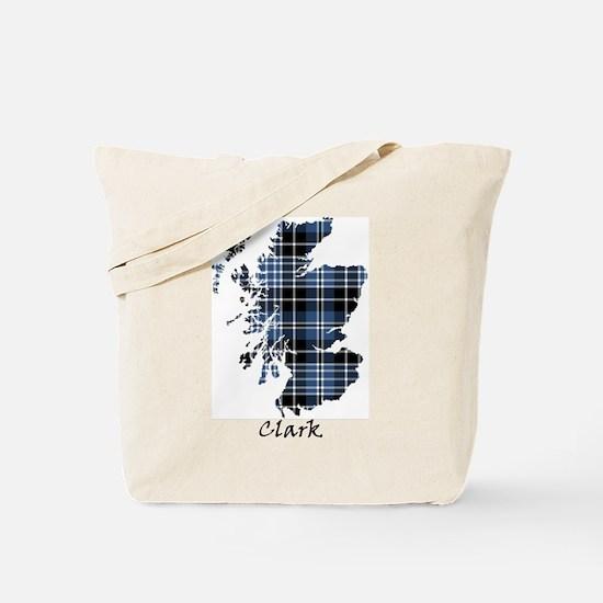 Map - Clark Tote Bag