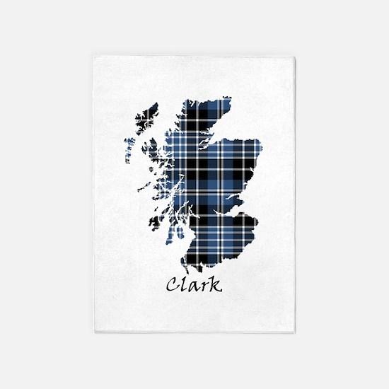 Map - Clark 5'x7'Area Rug