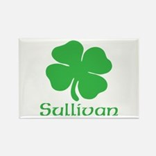 Sullivan (Shamrock) Rectangle Magnet