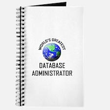 World's Greatest DATABASE ADMINISTRATOR Journal