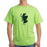 Map - Clergy Green T-Shirt