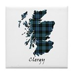 Map - Clergy Tile Coaster