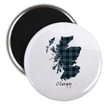 Map - Clergy Magnet