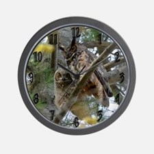 Gho With Chick Wall Clock