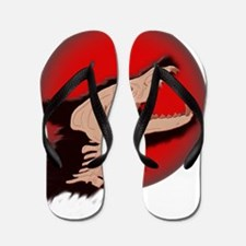 Blood Moon Werewolf Flip Flops