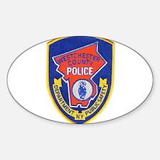 Westchester County Police Sticker (Oval)