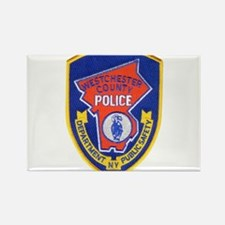 Westchester County Police Rectangle Magnet