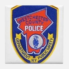 Westchester County Police Tile Coaster