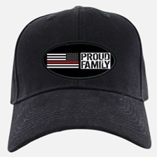 Firefighter: Proud Family (Black Flag, R Baseball Hat