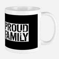 Firefighter: Proud Family (Black Flag, Mug