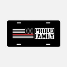 Firefighter: Proud Family ( Aluminum License Plate