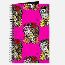 Sugar Skull Girl Journal