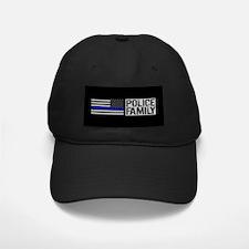 Police: Police Family (Black Flag, Blue Baseball Hat