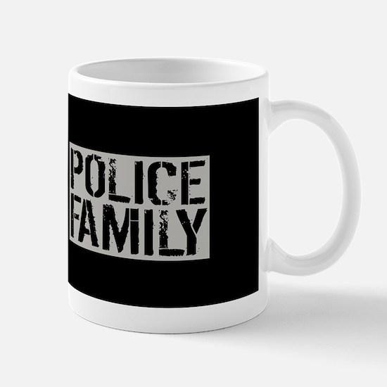 Police: Police Family (Black Flag, Blue Mug