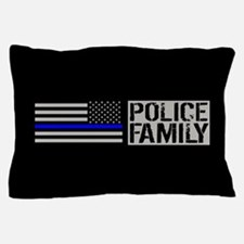 Police: Police Family (Black Flag, Blu Pillow Case