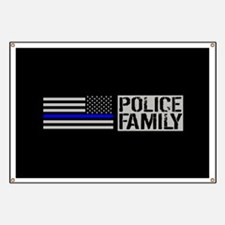 Police: Police Family (Black Flag, Blue Lin Banner