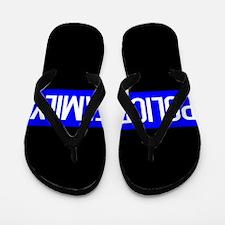 Police: Police Family (The Thin Blue Li Flip Flops