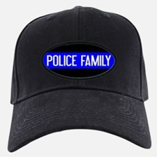 Police: Police Family (The Thin Blue Lin Baseball Hat