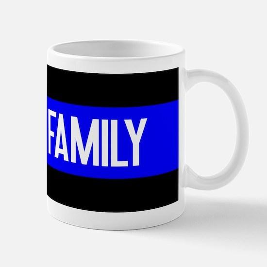 Police: Police Family (The Thin Blue Li Mug