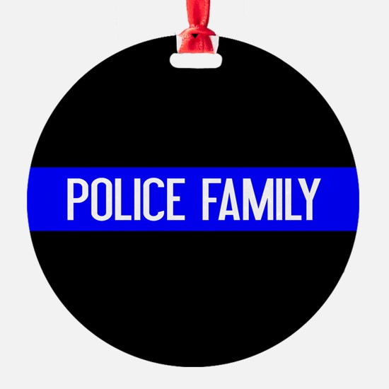 Police: Police Family (The Thin Blu Ornament