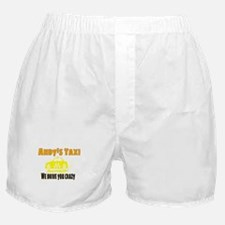 Andy's Taxi Boxer Shorts