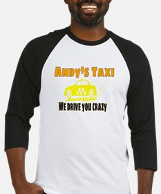 Andy's Taxi Baseball Jersey