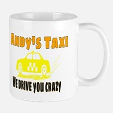 Andy's Taxi Mugs
