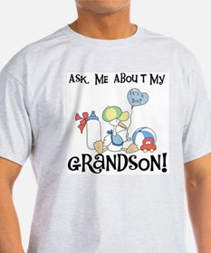 Stork New Grandson T-Shirt