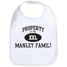 Property of Manley Family Bib