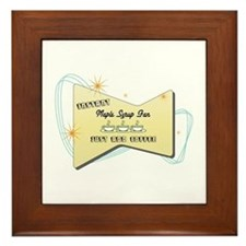 Instant Maple Syrup Fan Framed Tile
